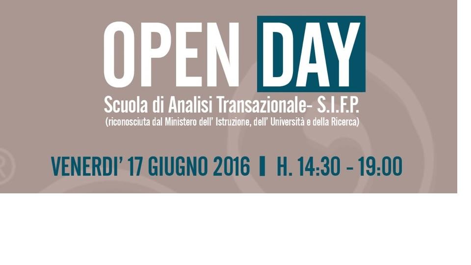 Open day 17 Giugno 2016